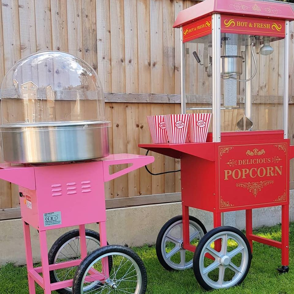 popcorn and candyfloss hire