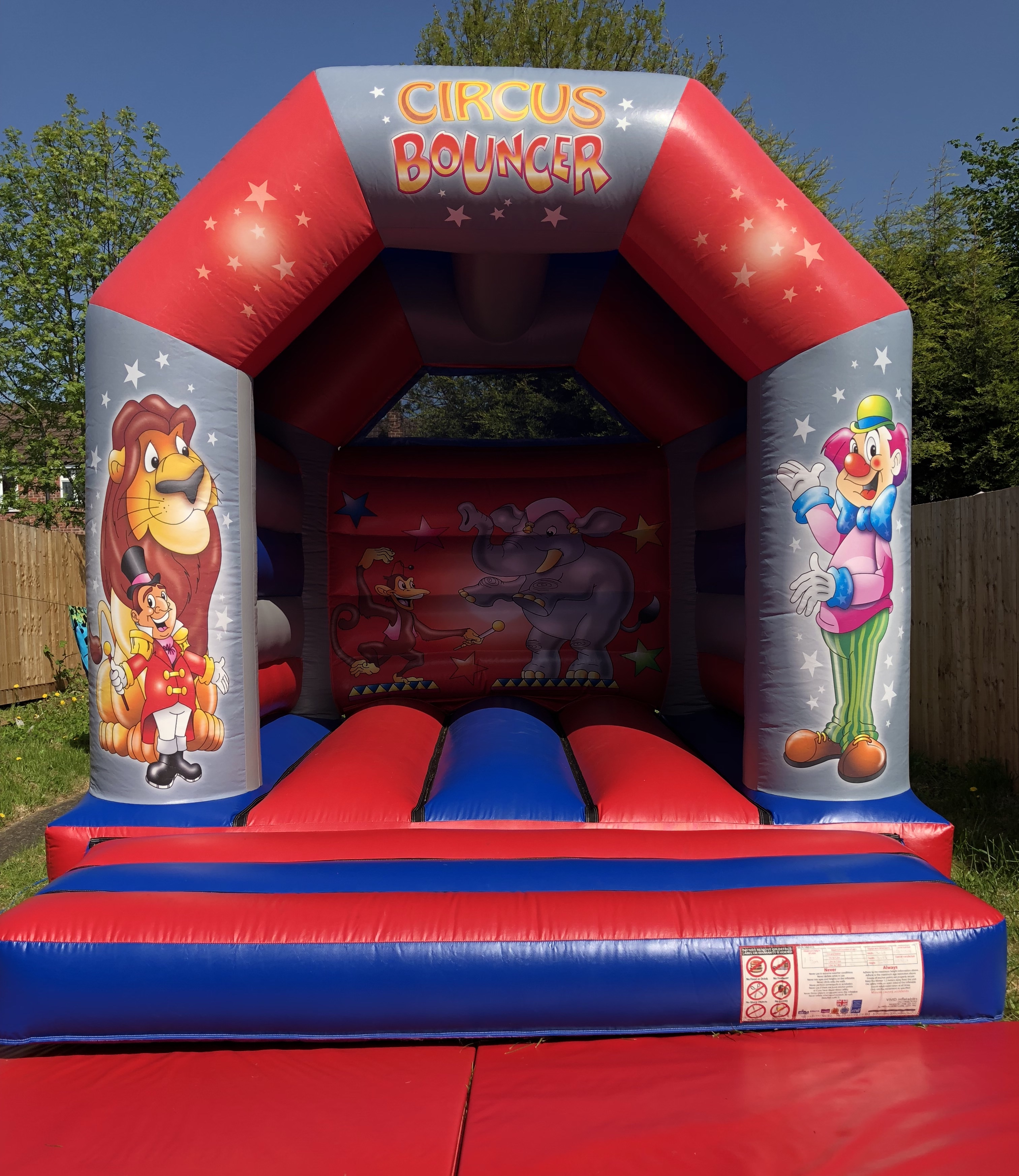 circus bouncer castle