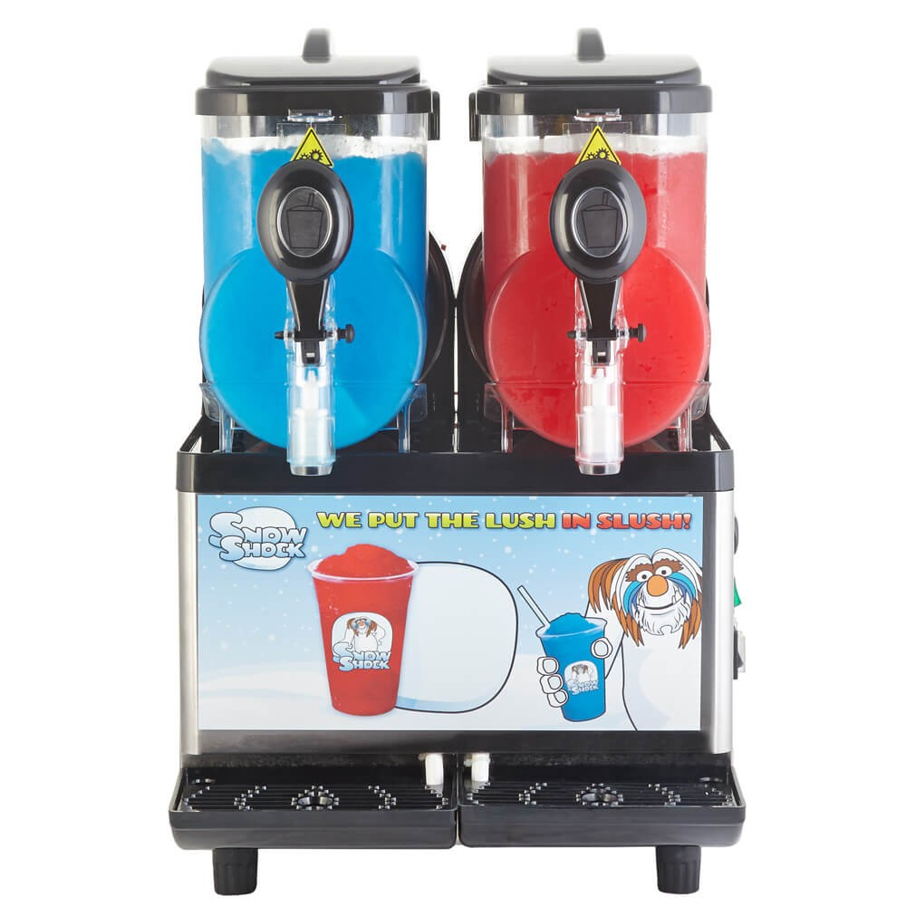 twin slush machine
